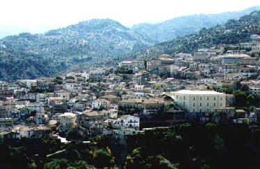 Panorama of Rossano. September, 1996