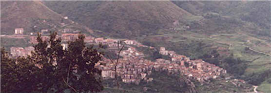 A View of the entire town of Verbicaro