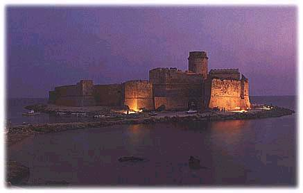 Le Castella at Night