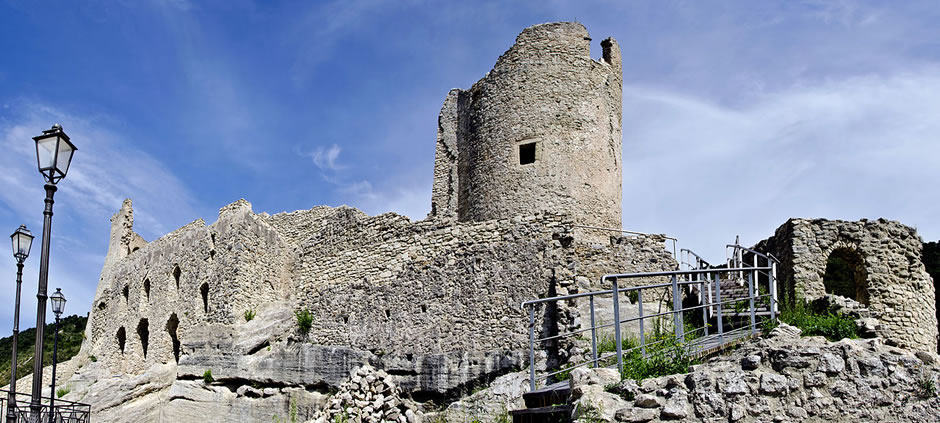 Castle in Cleto, Calabria, Italy