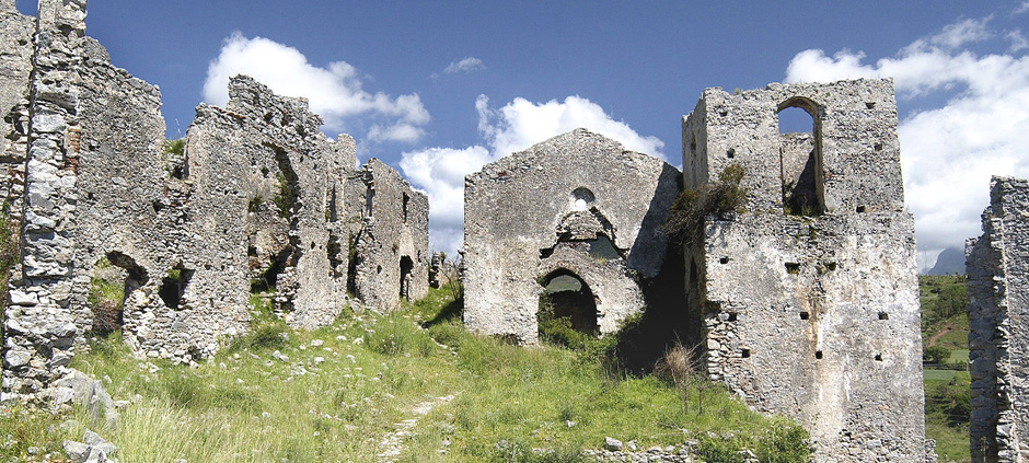 The ruins of Cirella, Diamante (CS), Calabria, Italy