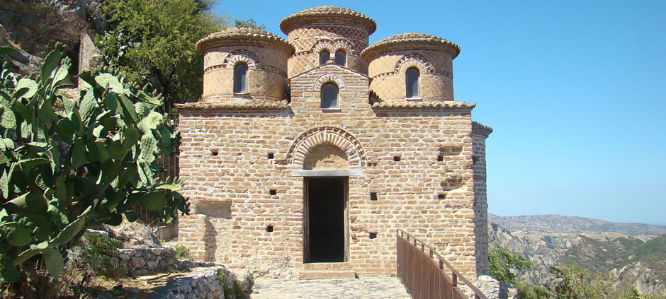 Byzantine Church<br>Stilo (RC), Calabria, Italy