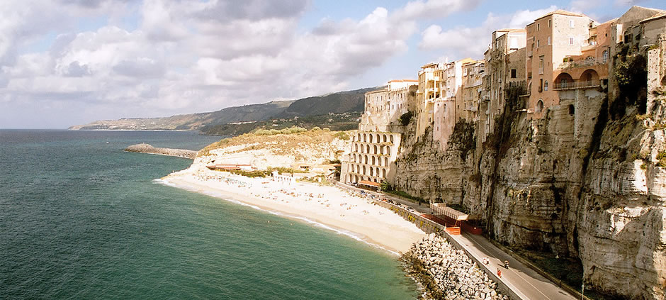 The coastline of Tropea<br>Tropea (VV), Calabria, Italy